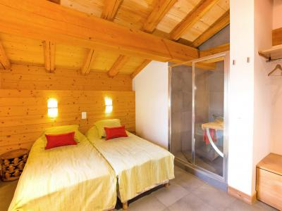 Rent in ski resort Chalet des Arcs CED01 - Les Arcs - Twin beds