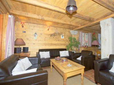 Location au ski Chalet Deux Têtes I - Les Arcs - Canapé