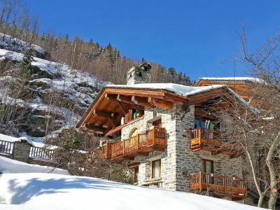 Holiday in mountain resort Chalet Villaroger - Les Arcs - Winter outside