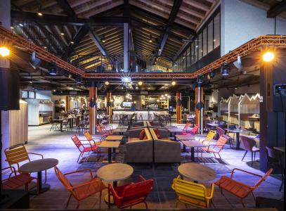 Rent in ski resort Hôtel Base Camp Lodge - Les Arcs - Inside