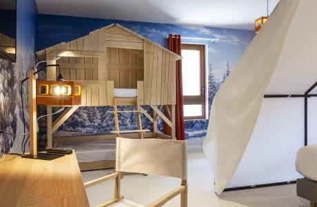 Rent in ski resort Bedroom for 1-2 people (TENTE) - Hôtel Base Camp Lodge - Les Arcs - Bedroom