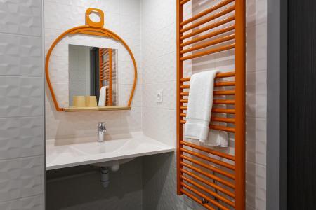 Rent in ski resort Room 2 people (CORDEE) - Hôtel Base Camp Lodge - Les Arcs - Bathroom
