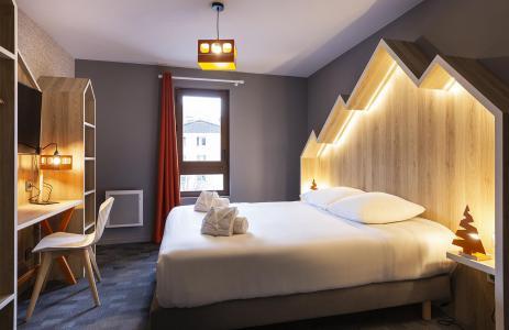 Rent in ski resort Room 2 people (CORDEE) - Hôtel Base Camp Lodge - Les Arcs - Bedroom