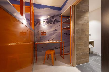 Rent in ski resort Room 2 people (TELEPHERIQUE) - Hôtel Base Camp Lodge - Les Arcs - Bedroom