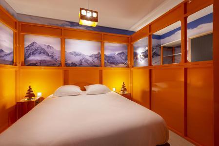 Rent in ski resort Room 2 people (TELEPHERIQUE) - Hôtel Base Camp Lodge - Les Arcs - Double bed
