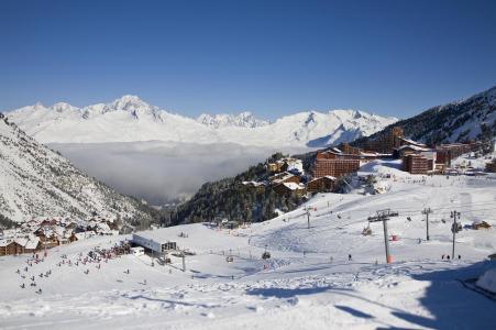 Location au ski Hôtel Club MMV Altitude - Les Arcs - Extérieur hiver