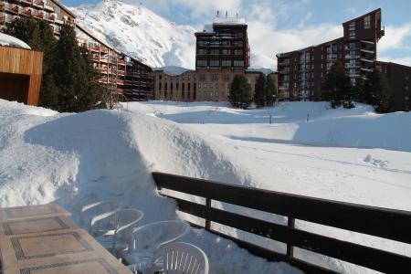 Wynajem na narty Hôtel Club MMV Altitude - Les Arcs - Zima na zewnątrz