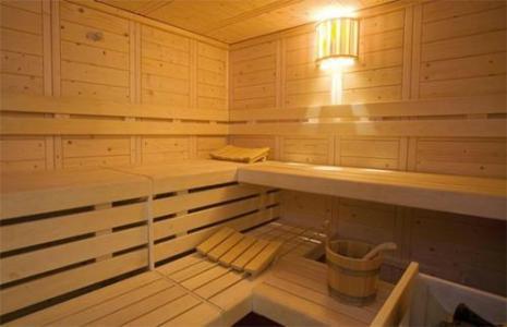 Location au ski Hotel Club Mmv Les Melezes - Les Arcs - Sauna