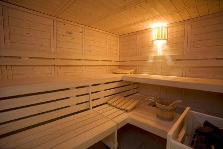 Skiverleih Hôtel Club MMV les Mélèzes - Les Arcs - Sauna