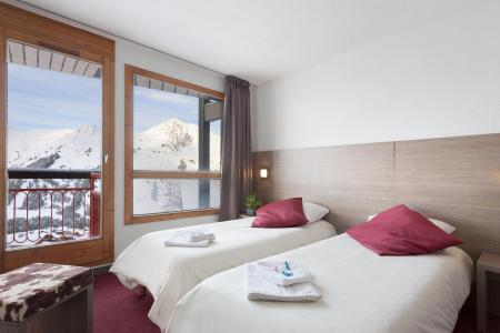 Skiverleih Hôtel Club MMV les Mélèzes - Les Arcs - Schlafzimmer