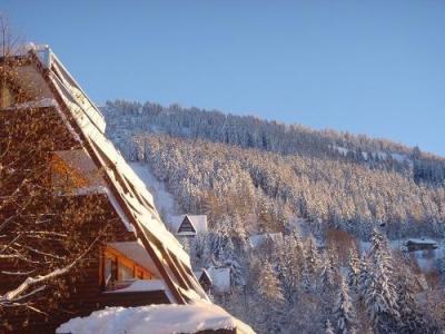 Location au ski Hotel Et Spa Arcadien - Les Arcs - Extérieur hiver