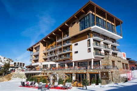 Rent in ski resort Hôtel Taj-I Mah - Les Arcs - Winter outside