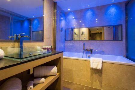 Rent in ski resort Hôtel Taj-I Mah - Les Arcs - Bathroom