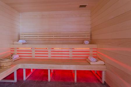 Rent in ski resort Hôtel Taj-I Mah - Les Arcs - Sauna