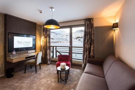 Rent in ski resort Hôtel Taj-I Mah - Les Arcs - Settee