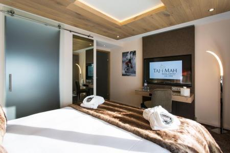 Rent in ski resort Hôtel Taj-I Mah - Les Arcs - TV
