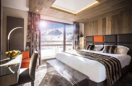 Rent in ski resort Hôtel Taj-I Mah - Les Arcs - Window