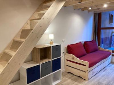 Location au ski Appartement 2 pièces mezzanine 5 personnes (104) - La Résidence l'Archeboc - Les Arcs