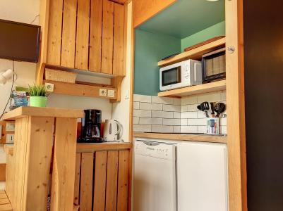 Location au ski Studio mezzanine 4 personnes (335) - La Résidence l'Archeboc - Les Arcs - Banquette-lit