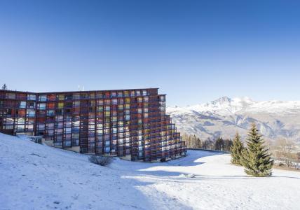Holiday in mountain resort La Résidence la Pierra Menta - Les Arcs - Winter outside