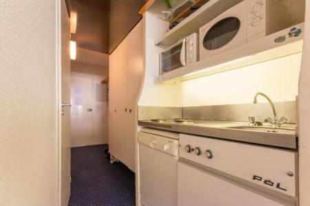 Rent in ski resort Studio sleeping corner 4 people (407) - La Résidence les Lanchettes - Les Arcs - Kitchenette