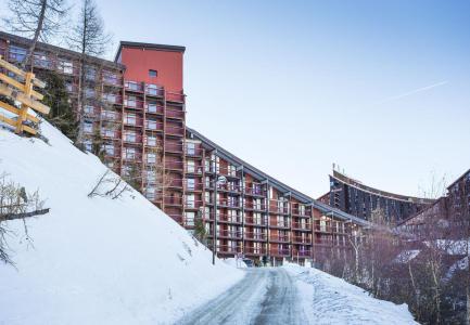 Holiday in mountain resort La Résidence Varet - Les Arcs - Winter outside