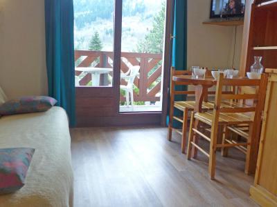 Rent in ski resort 1 room apartment 4 people (4) - Les Glières - Les Arcs - Living room