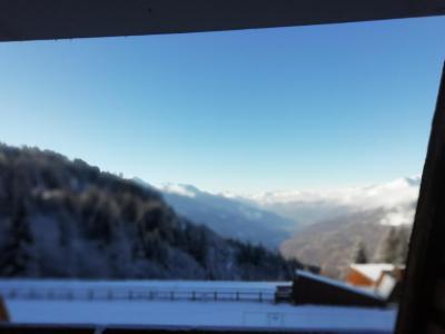 Location au ski Studio 4 personnes (4070) - Résidence Adret - Les Arcs - Extérieur hiver