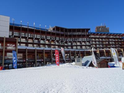 Location au ski Residence Aiguille Rouge - Les Arcs - Extérieur hiver