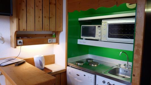Location au ski Studio 4 personnes (000) - Résidence Archeboc - Les Arcs - Extérieur hiver