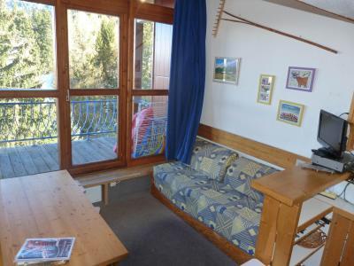 Location au ski Studio mezzanine 5 personnes (510) - Résidence Archeboc - Les Arcs - Extérieur hiver