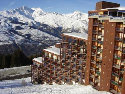 Location au ski Résidence Armoise - Les Arcs - Extérieur hiver