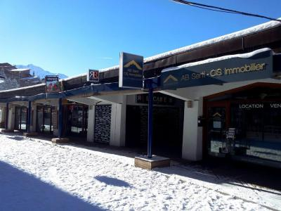 Location au ski Studio 3 personnes (604) - Résidence Armoise - Les Arcs - Plan