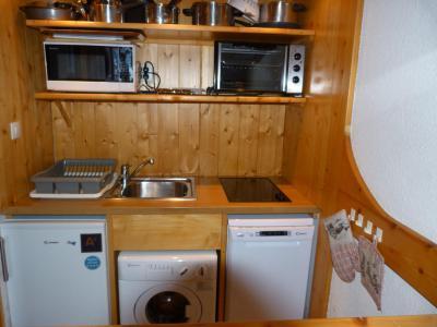Location au ski Appartement 2 pièces 6 personnes (505) - Résidence Armoise - Les Arcs - Cuisine