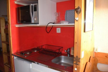 Location au ski Studio 3 personnes (800) - Résidence Armoise - Les Arcs - Appartement