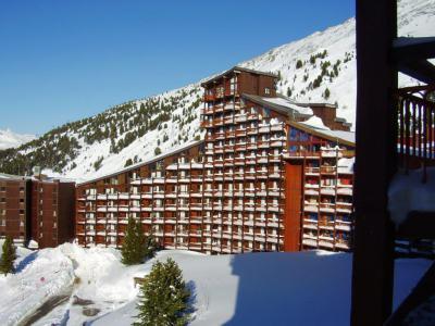 Location au ski Residence Bel Aval - Les Arcs - Extérieur hiver