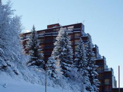 Vacances en montagne Studio 4 personnes (841) - Résidence Belles Challes - Les Arcs - Extérieur hiver