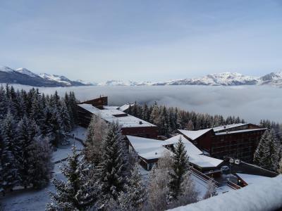 Vacances en montagne Studio coin montagne 4 personnes (1120) - Résidence Belles Challes - Les Arcs - Extérieur hiver