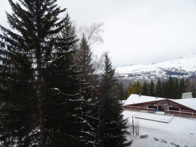 Vacances en montagne Studio coin montagne 4 personnes (524) - Résidence Belles Challes - Les Arcs - Extérieur hiver