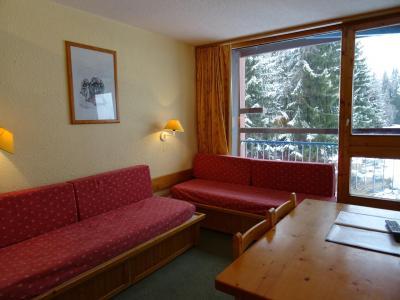 Location au ski Studio 4 personnes (306) - Résidence Belles Challes - Les Arcs - Séjour