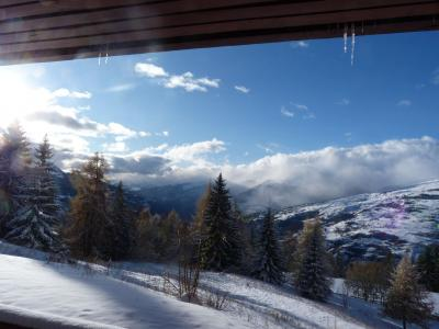 Location au ski Appartement 2 pièces 5 personnes (006) - Residence Bequi-Rouge - Les Arcs - Extérieur hiver