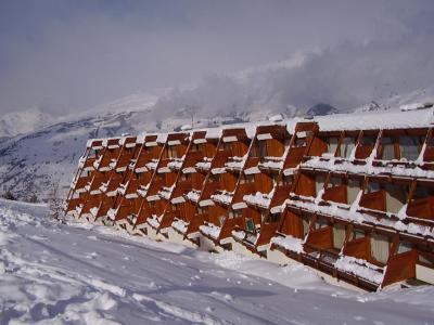 Vacances en montagne Résidence Cachette - Les Arcs - Extérieur hiver