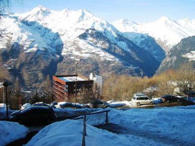 Wynajem na narty Apartament 2 pokojowy 4 osób (729R) - Résidence Cachette - Les Arcs - Zima na zewnątrz