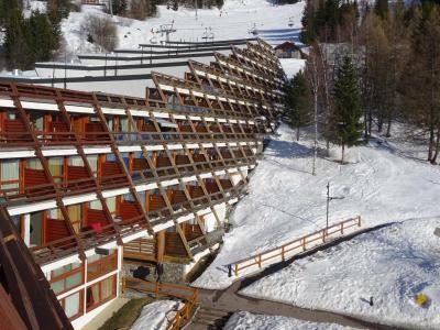 Location au ski Residence Cascade - Les Arcs - Extérieur hiver