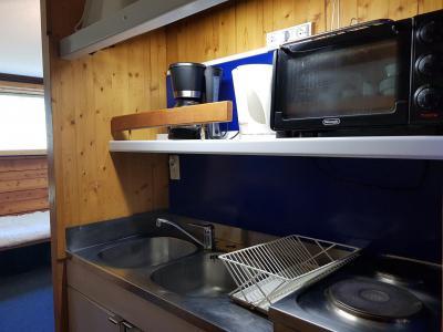 Location au ski Studio 2 personnes (521) - Résidence Cascade - Les Arcs