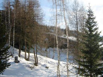 Location au ski Studio 2 personnes (656) - Residence Cascade - Les Arcs - Extérieur hiver