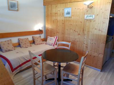 Location au ski Studio 2 personnes (541) - Résidence Cascade - Les Arcs