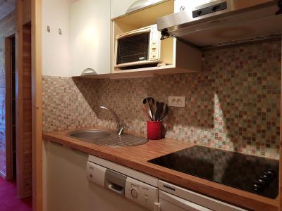 Location au ski Appartement 2 pièces 5 personnes (547R) - Résidence Cascade - Les Arcs - Kitchenette
