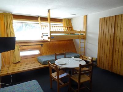 Location au ski Studio 2 personnes (522) - Residence Cascade - Les Arcs - Extérieur hiver