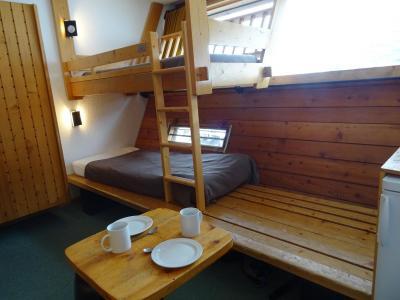 Location au ski Studio 2 personnes (522) - Residence Cascade - Les Arcs - Coin nuit